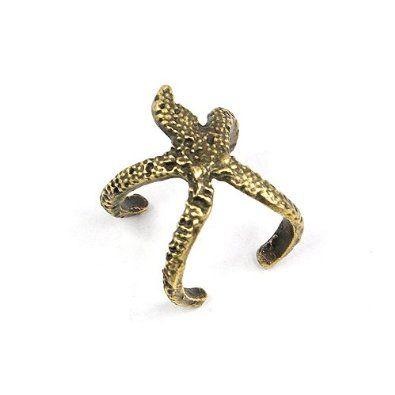 Trendy Vintage Starfish Cuff Ring World Pride. $4.29