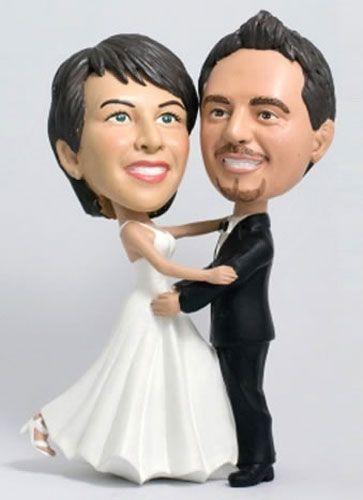 Eine 3D Comicfigur vom Foto. Ein ideales Geschenk zur Hochzeit, Silberhochzeit oder zum Jubiläum. Auch als Geschenk vom Paar an die Eltern geeignet.