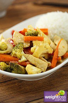 Lemon Chicken. #HealthyRecipes #DietRecipes #WeightLossRecipes weightloss.com.au