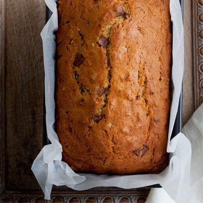 Gluten free Chocolate & walnut banana bread recipe. For the full recipe, click the picture or visit RedOnline.co.uk