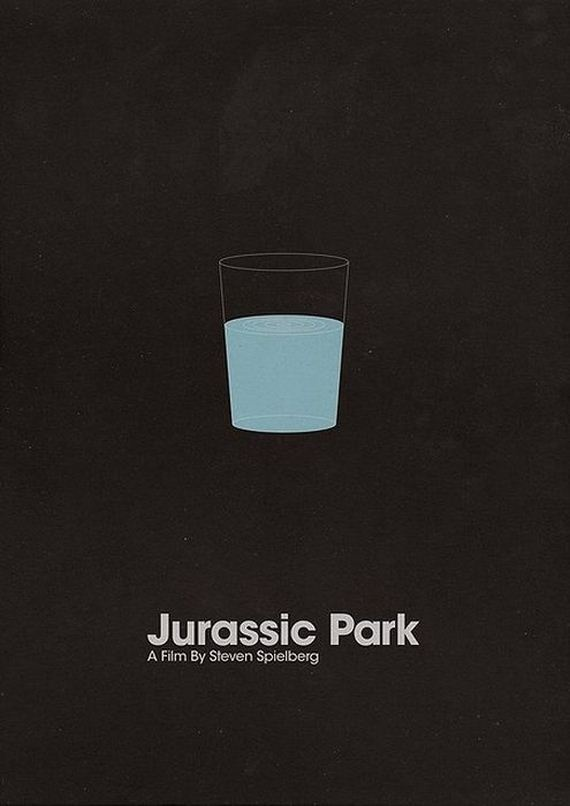 Pinterest - Popular movie posters get redesigned with a beautifully minimal twist