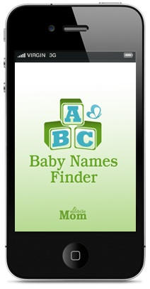 """Baby Names Finder - click to download your FREE app. Follow TheMobileMoms find """"Repin to Win"""" Contest Board, instructions are under the description."""