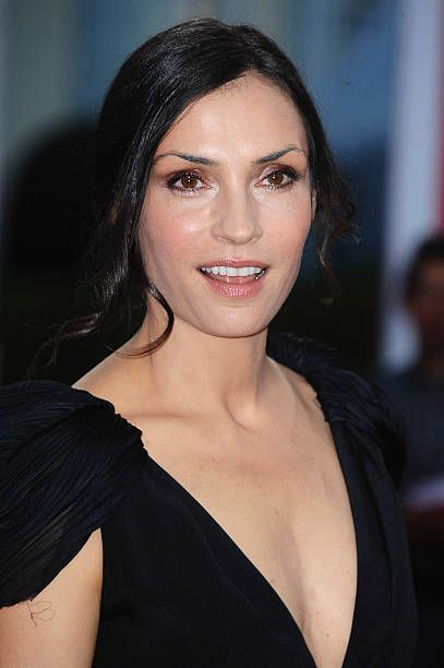 Actress Famke Janssen arrives at the 'Bringing Up Bobby' Premiere during the 37th Deauville American Film Festival on September 5, 2011 in Deauville, France.
