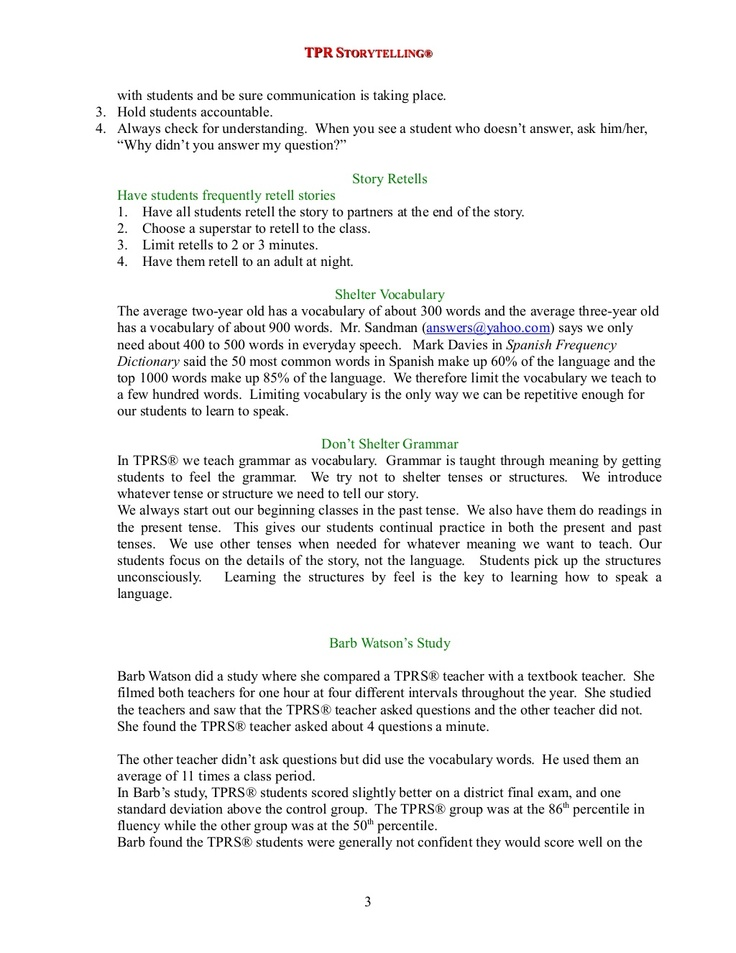 17 best TPRS Spanish images on Pinterest Teaching spanish - cover letter in spanish