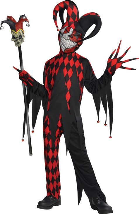 Killer Ciown Costumes For  Year Old Kids