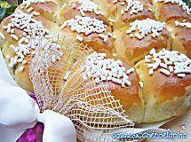 Danubio dolce ricetta di base   uovazuccheroefarina