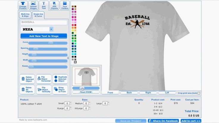 11 best t shirt design software by images for Custom t shirt software