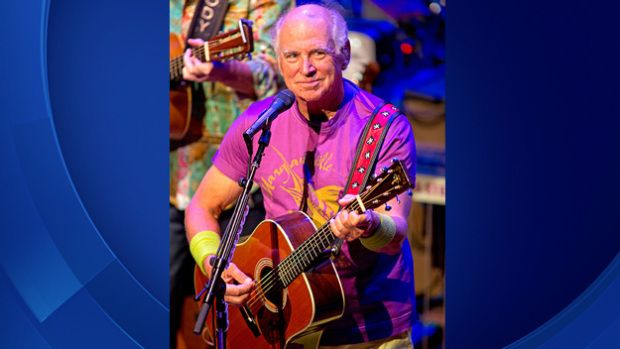 Singer Jimmy Buffett performs a free concert at the San Carlos Institute Wednesday, April 1, 2015, in #Key #West, Fla. Buffett and his Coral Reefer Band put on the concert as part of a contest where fans submitted a songlist they wanted to hear and about 250 tickets were awarded on a lottery basis. The concert was also streamed online and shown on a large screen at Key West's Higgs Beach.  (Rob O'Neal/Florida Keys News Bureau/HO)