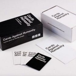 "Cards Against Humanity ""A party game for horrible people""  is currently one of the most highly sought after new adult party games, and it's trending..."