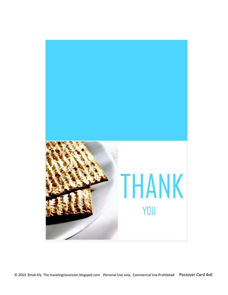 Passover cards!