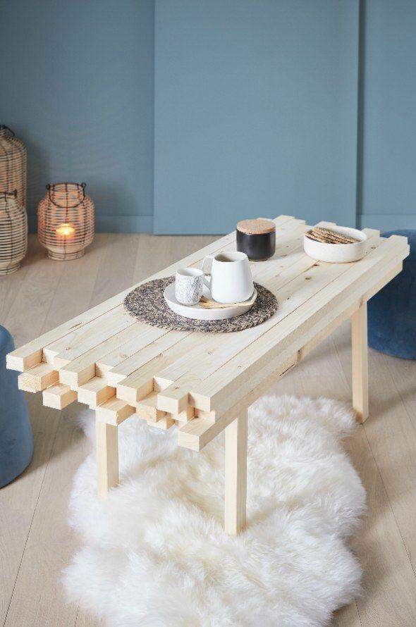 En 2020 Fabriquer Une Table Basse Table Basse Fabriquer Une Table Basse En Bois