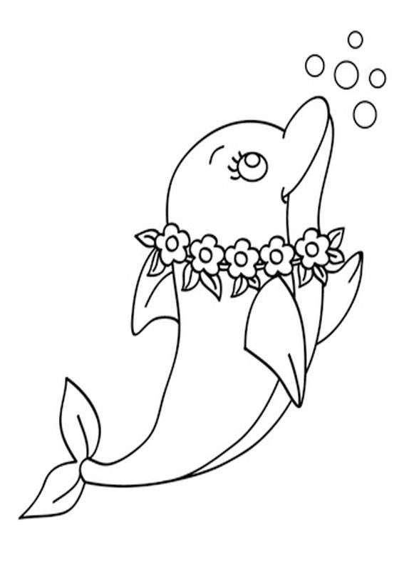 30 Disegni Di Delfini Da Colorare Pianetabambini It Nel 2020 Delfini Libri Da Colorare Disegni Di Animali Carini