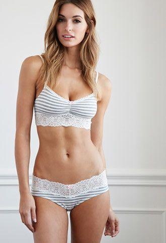 Ropa Interior Bikini Encaje | Forever 21 - 2000174206