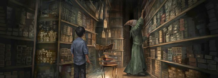 Considered by many to be the world's best wandmaker, almost everyone at Hogwarts gets their wands from him.   Happy Birthday Garrick Ollivander!