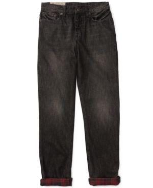 Ralph Lauren Skinny Fit Jeans, Big Boys (8-20) - Logan Wash 20