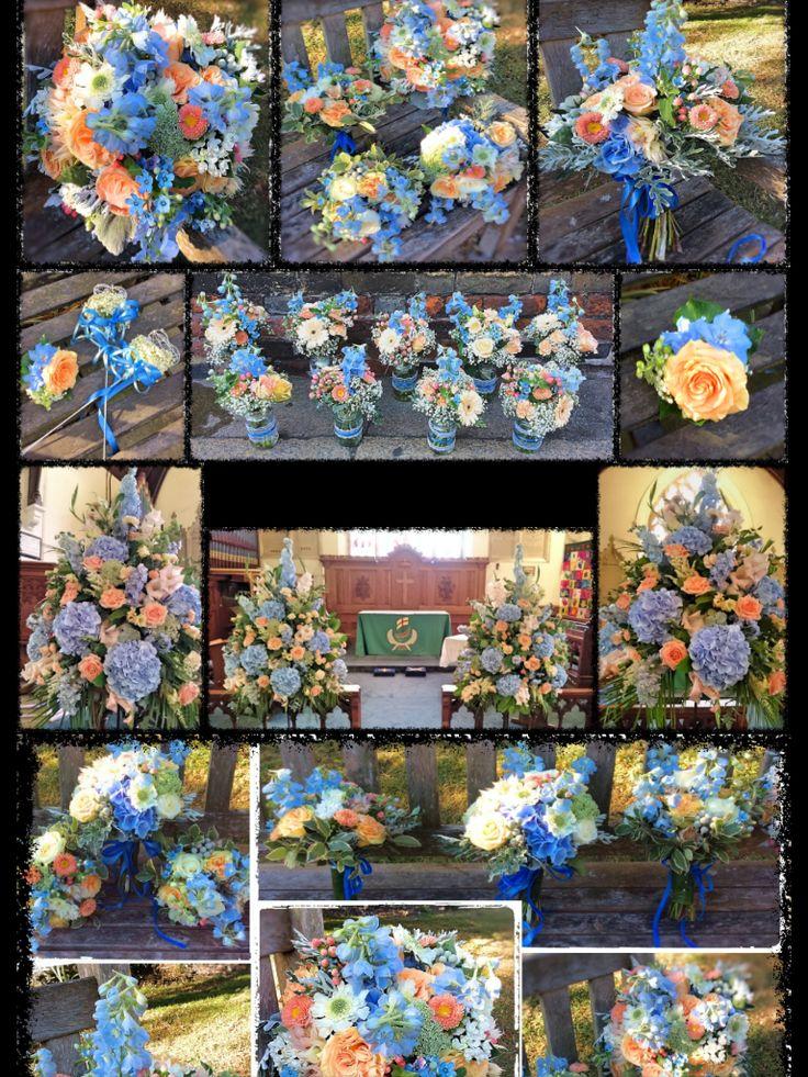 Stunning flowers by The Flower Basket, Sandwich, Kent