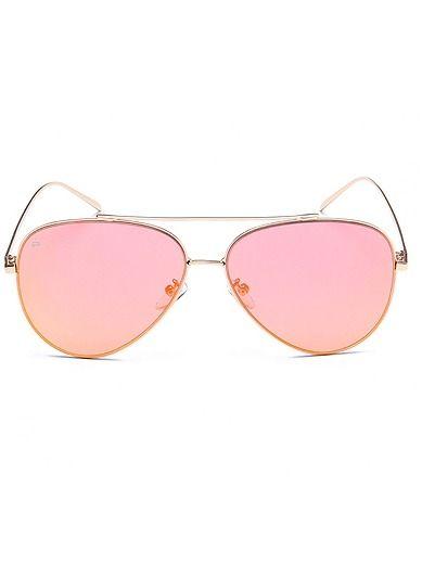 Cheapass Sonnenbrille Rund-e Creme Pink Orange High-Fashion UV-400 Festival-Accessoire Plastik Damen Frauen GQ8vvQdf48