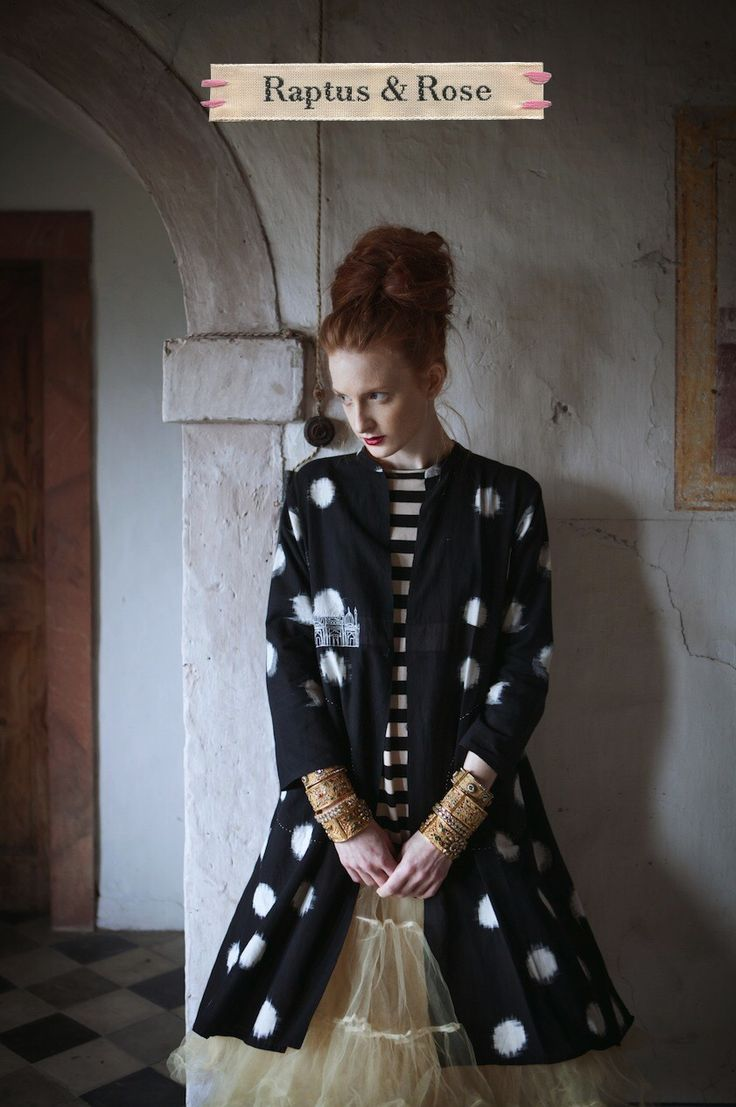 The New R&R Architectural Ikat Coat