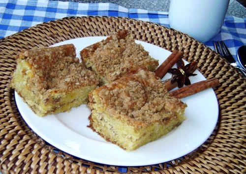 Jewish Coffee Cake (Kaffee-Kuchen)