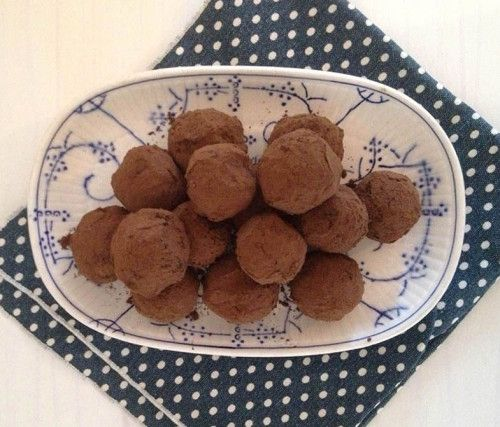 Coffee Truffle Recipe. A quick and delicious chocolate coffee truffle ...