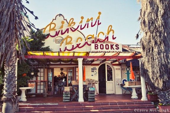Bikini Beach Books, Gordon bay, South Africa