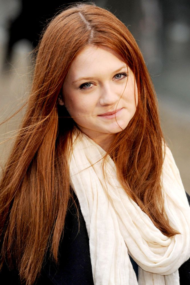 February 17th. Happy 25th birthday to Bonnie Wright, the gorgeous younger sister.