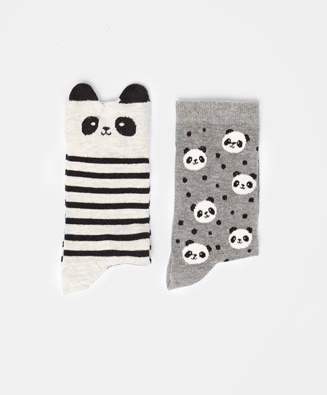 Pack of panda socks - OYSHO