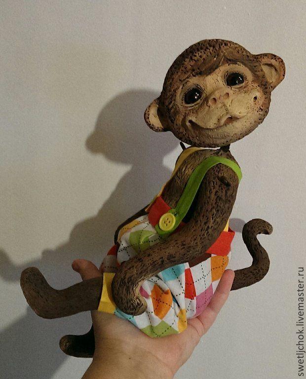 Папье маше своими руками обезьяна