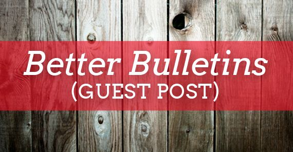 Five simple ways to improve your church bulletin