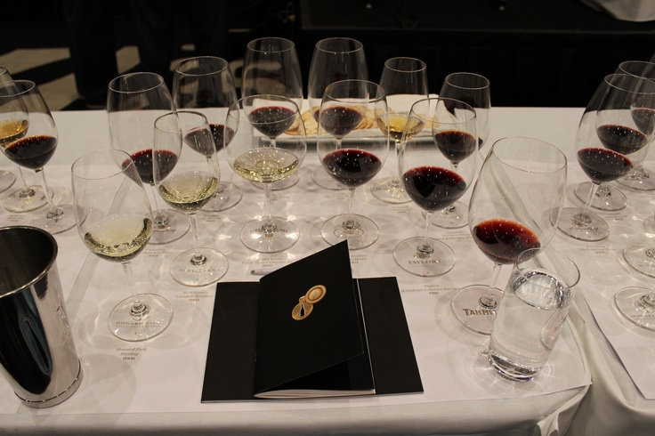 Some of Australia's best wine - at the Australia's First Families of Wine tasting, Ivy Ballroom Sydney