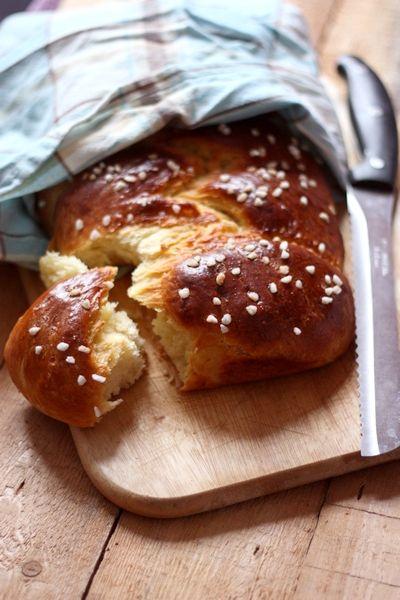 Recette de brioche au beurre et au sucre