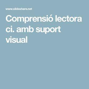 Comprensió lectora ci. amb suport visual