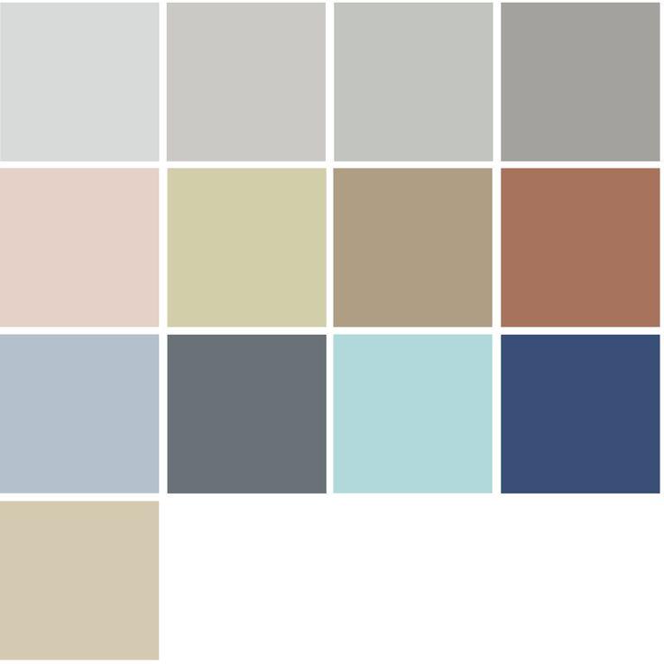 4 Color Trends 2018 By Dulux Essential Palette Via