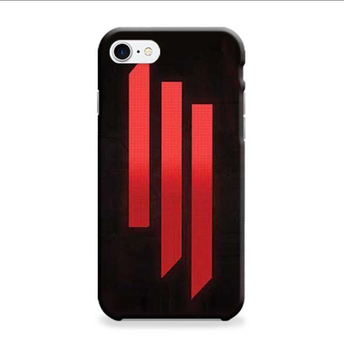 Skrillex Logo Stripes iPhone 7 Plus 3D Case