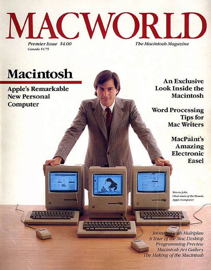 Macworld publishes its first issue in 1984.