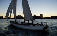 Sailing on Schooner Adirondack; New York City Sails and Private Charters on the Hudson River (Manhattan, NY) | Classic Harbor Line Sail New York