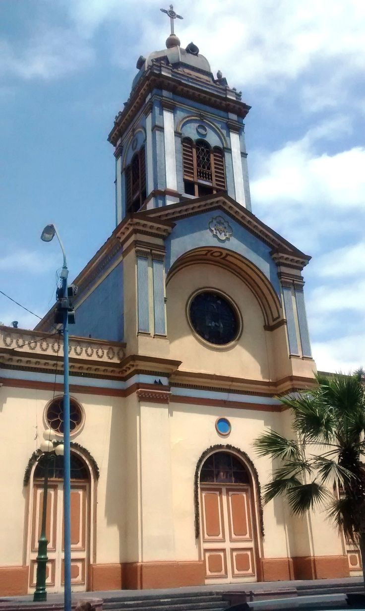 Iquique church (picture by CASACL)