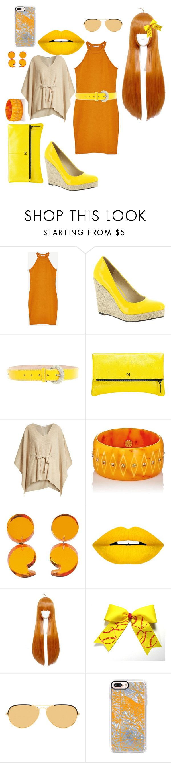 """""""o-n-y"""" by crythin ❤ liked on Polyvore featuring Michael Antonio, D&G, MOFE, Elizabeth and James, Mark Davis, Forever 21, Linda Farrow and Casetify"""