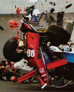 After failing in F1, the Italian driver, Alex Zanardi,: was on the podium in Champ Car racing - until the crash that cost him his legs. Four days after 9/11, I was in a Champ Car race at Lausitzring, in Germany. I could remember very little about what happened next. Later I learned that I had collided with Alex Tagliani as I left the pit lane; he was travelling at nearly 190mph. There was a big impact, and people were screaming. Then one week later, my wife, Daniela told me I had lost my…