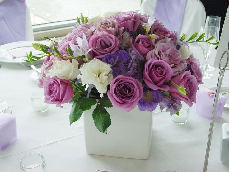 best  purple flower arrangements ideas on   stock, Natural flower