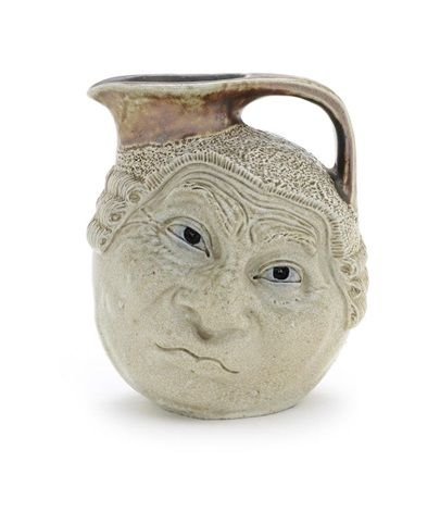 Martin Brothers (English) Title:     Face jug , ca. 1910