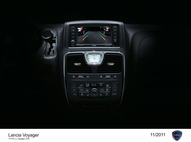 Lancia Voyager, konsola.