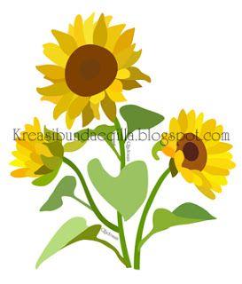 Kreasi Bundae Qilla: Sun Flower