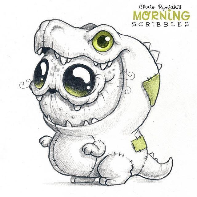 Eidechsenanzug Schrecklicher Morgenskizzen Schreckliche Dinosaurier Eigentlich Tatsache Bedeutet E Monster Zeichnung Zeichnungen Niedliche Zeichnungen