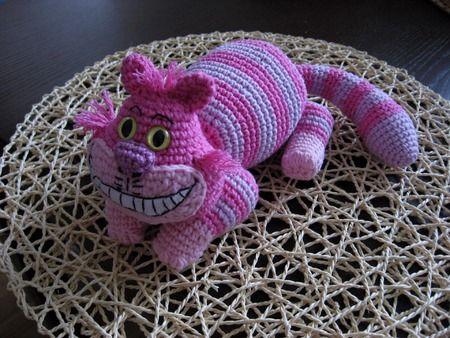 Crochet Cheschire cat