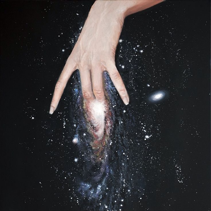 """supernatasha: """" """" andromeda, oil on canvas, 50x50cm, 2013 """" """""""