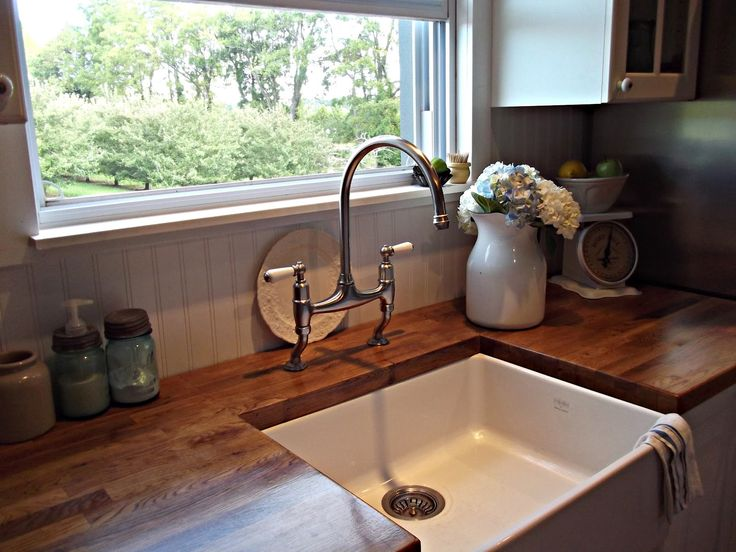 charming Farmhouse Style Kitchen Faucets #8: Kitchen faucets farmhouse style brings the nostalgic feeling of the old  farmhouse. With its deeply curved shape and retro valve, the farmhouse  faucet will ...