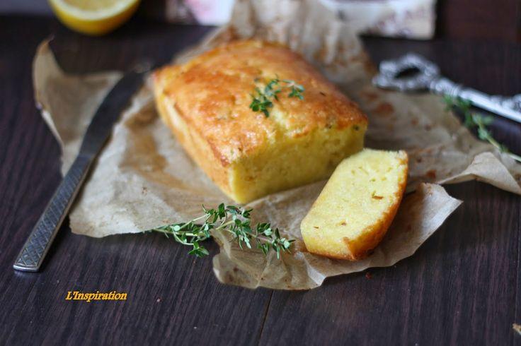 L'Inspiration Готовьте с вдохновением: Нежный и сочный лимонный кекс с тимьяном