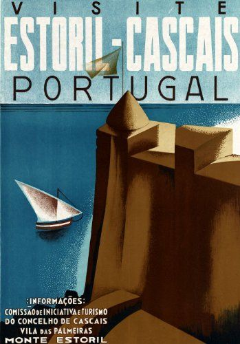Fantastic A4 Glossy Print - 'Visit Portugal' - Taken From A Rare Vintage Travel Poster (Vintage Travel / Transport Posters) by Unknown http://www.amazon.co.uk/dp/B005ZAFL9U/ref=cm_sw_r_pi_dp_t4Dovb1ST2NMT