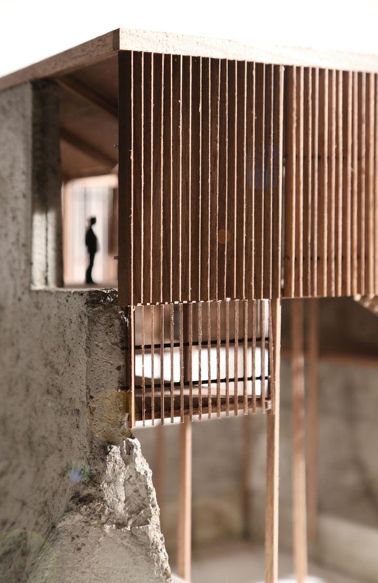 Allen Plasencia: architectural model. SHELTER FACTORY